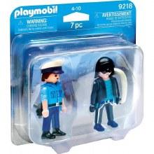 Duo policier et voleur