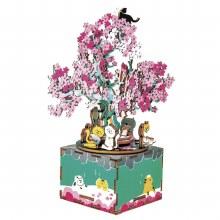 DIY Boite à musique - Arbre Cherry Blossom