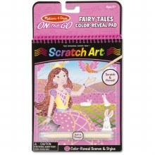 Scratch Art - Conte de Fées