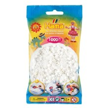 1000 Perles Hama - Blanc