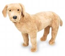 Labrador jaune en peluche