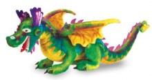 Dragon en peluche