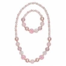 Collier & Bracelet - Pinky