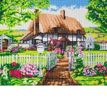 Crystal Art - Rose Cottage - Large