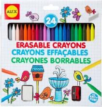 24 Crayons effaçales