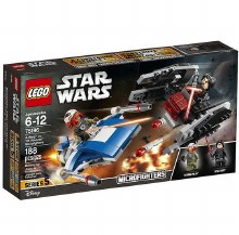 Star Wars - A-Wing Contre Silencer
