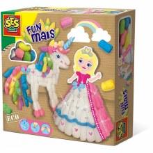 Fun maïs - Princesse et licorne
