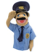 Marionnette - Policier