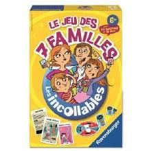 Le jeu des 7 familles Les Incollables