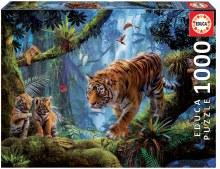 Casse-tête 1000 mcx - Tigre sur arbre