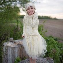 Costume de momie avec jupe (5-6ans)