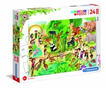 Casse-tête 24 mcx - Au Zoo