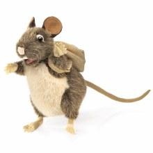 Rat avec sac à dos