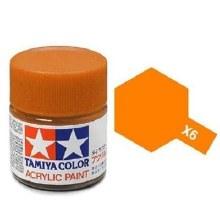 Peinture Tamiya - X-6 Orange