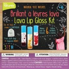 Création de brillant à lèvres lava