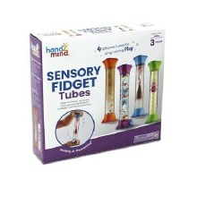 Sensory Fidget - Tubes 4 pcs