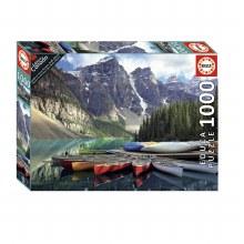 Casse-tête 100mcx - Canoes - Banff Alberta