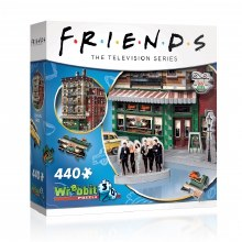 Casse-tête 3D, 440 mcx - Friends - Central Perk