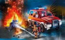 Urgence incendie de ville