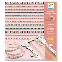 Bracelets et metier à tisser - Minuscules