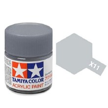 Peinture Tamiya - XF-11 Chrome Silver