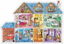Casse-tête de plancher 25mcx - Maison de poupée