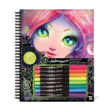 Cahier à colorier - Noir