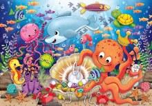 Casse-tête 24 mcx - Le trésor de Fishie