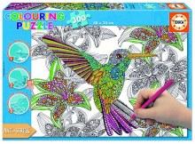 Casse-tête 300mcx - Oiseau à colorier