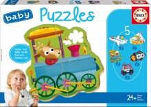 Casse-tête 5mcx - Baby Puzzle Véhicules