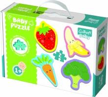 4 Casse-tête 2mcx - Légumes et fruits