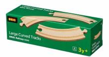 4 rails longues et courbées