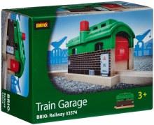 Garage de train