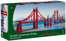 Double pont de suspension