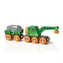 Wagon ingénieux - grue