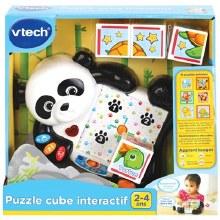 Puzzle cube interactif