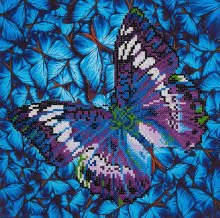 Diamond Dotz - Papillon Mauve