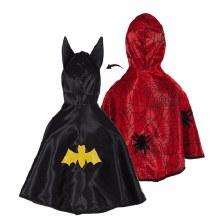 Cape reversible - Batman/spiderman (2-3ans)