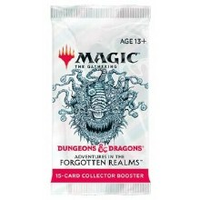 Mtg - Adventure in the Forgotten Realms - Collectors Booster Pack