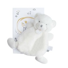 Peluche Ours blanc 19cm