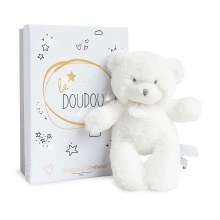 Peluche Ours blanc 20cm