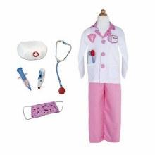 Costume de docteur Rose (5-6ans)