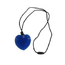Pendentif Coeur - Bleu