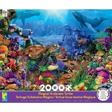Casse-tête, 2000 mcx - Tortue Sous-marine Magique