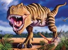 Casse-tête, 100 mcx - Dinosaure Glow