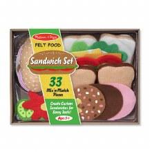 Aliments en feutre - Sandwich