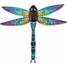 Cerf-Volant 3D - Dragonfly Rainbow