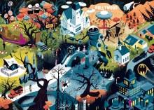 Casse-tête 1000 mcx - Tim Burton Films