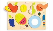 Casse-tête de bois - les fruits
