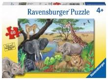 Casse-tête, 60 mcx - Animaux d'Afrique Safari